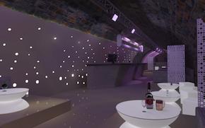 Design d 39 int rieur d 39 une boite de nuit en centre ville for Deco boite de nuit