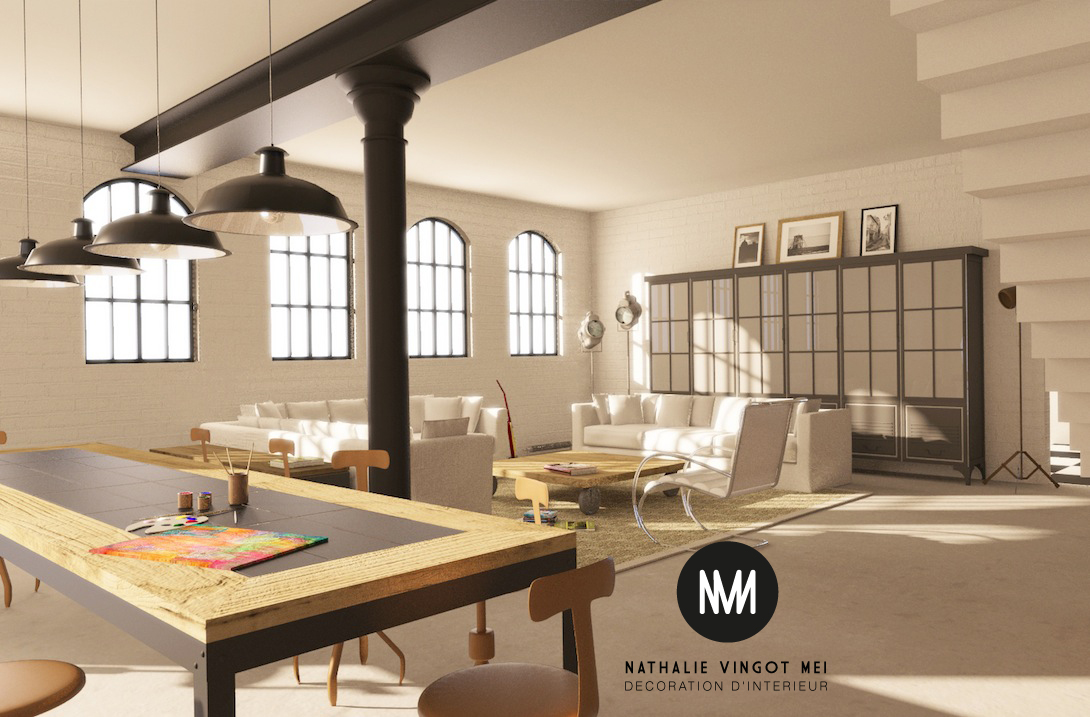 D coration interieur loft industriel - Decoration interieur industriel ...