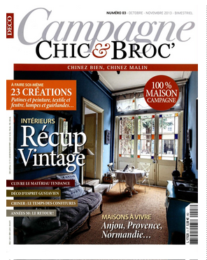 magazine de d coration campagne chic et broc. Black Bedroom Furniture Sets. Home Design Ideas